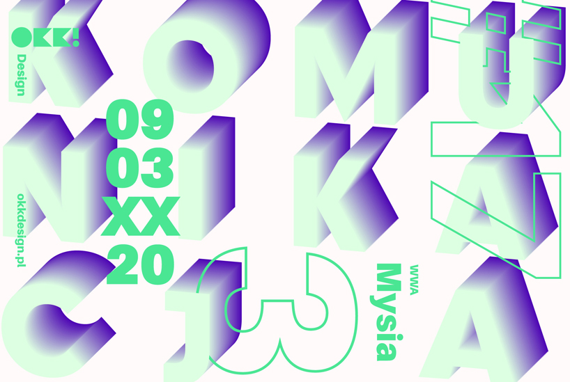 plakat 17 edycji OKK! design