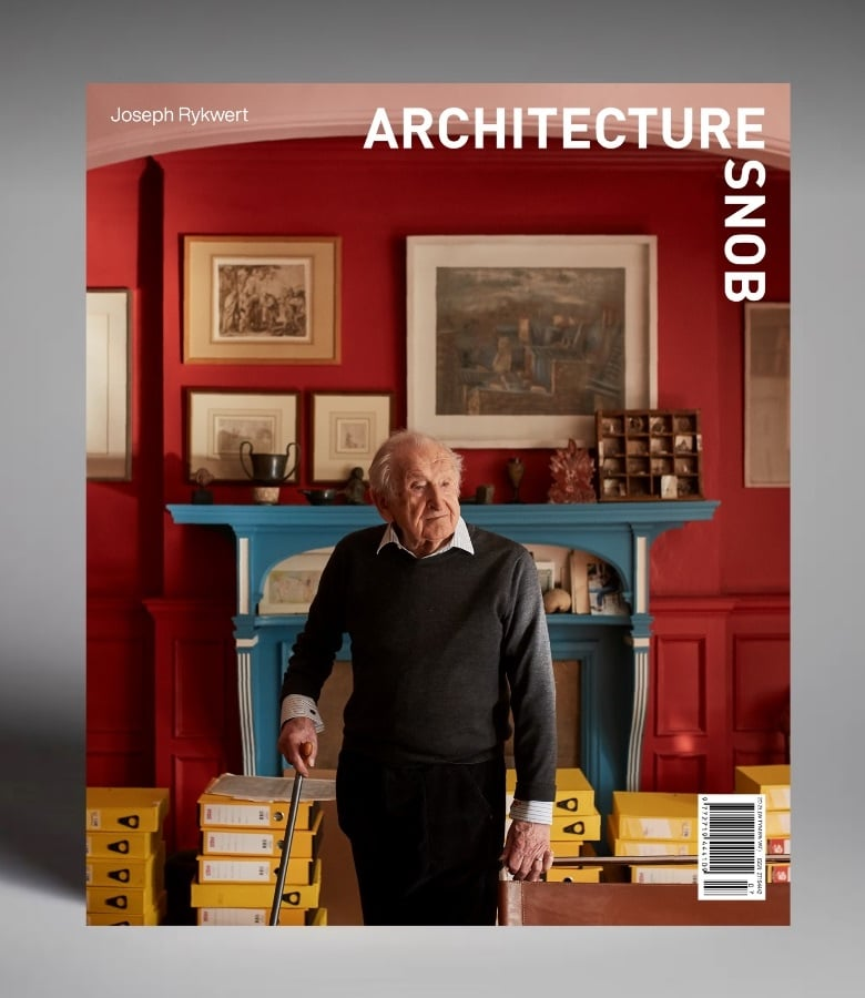 okładka architecture snob numer 1