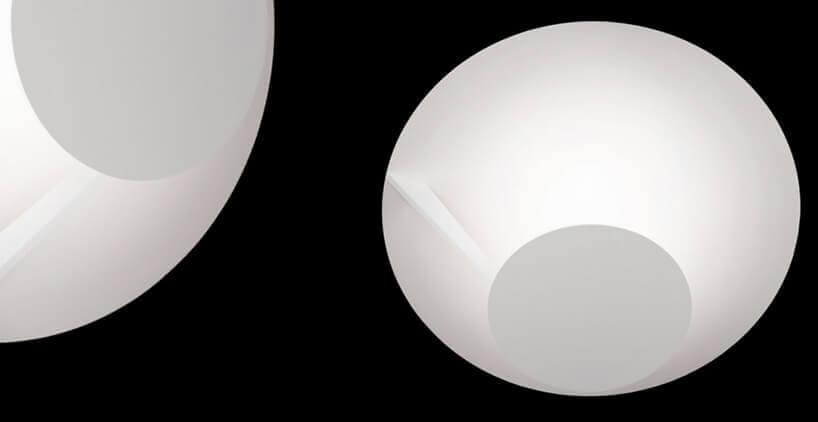 białe lampy