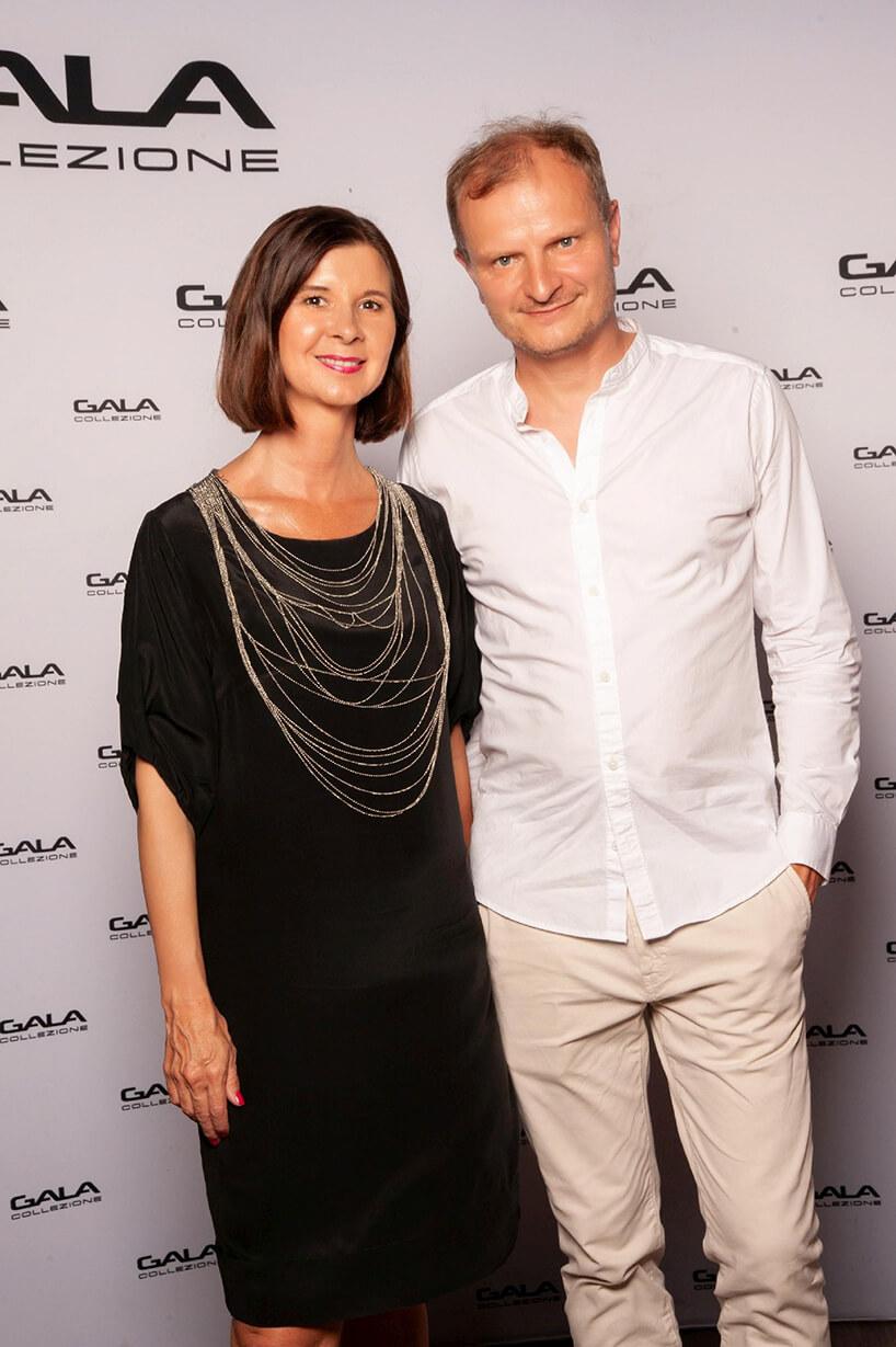 Ireneusz Pawłowski na otwarciu salonu Gala Collezione Warszawa