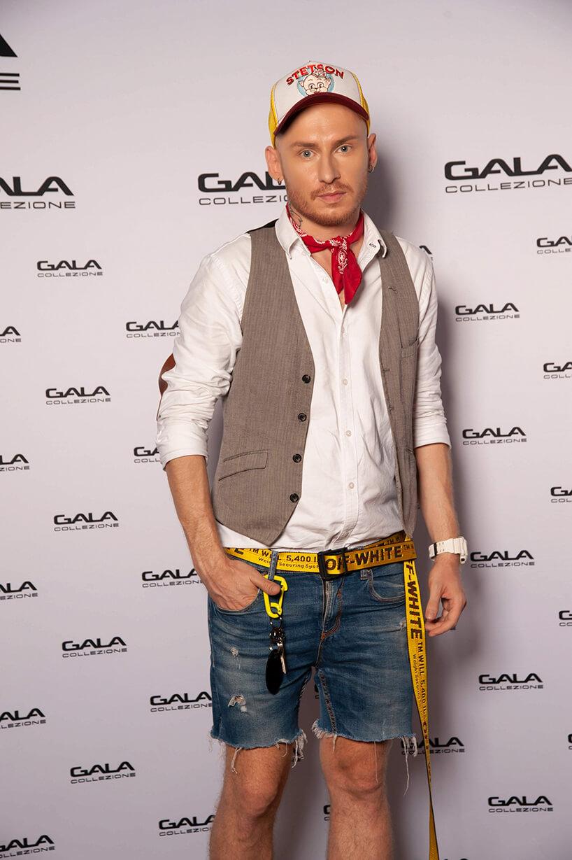 Jacek Szawioła na otwarciu salonu Gala Collezione Warszawa