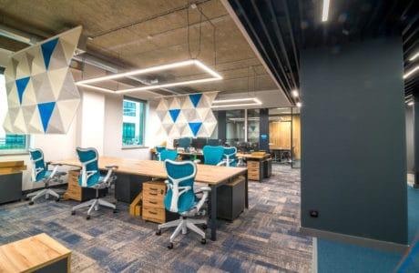 Otwarta przestrzeń, ergonomia i chillout: modernizacja Santander Data Center