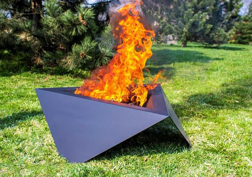 Paleniska ogrodowe: magia ognia iświatła