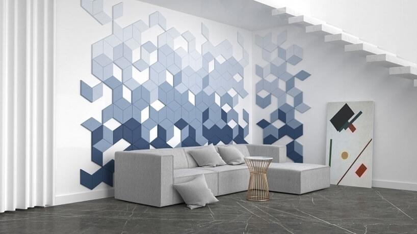 Nowe Trendy W Dekoracji ścian Ciężki Mosiądz I Delikatna