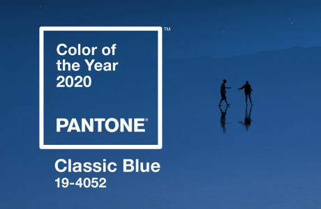 Pantone color of the year 2020 Classic Blue kolor roku 2020