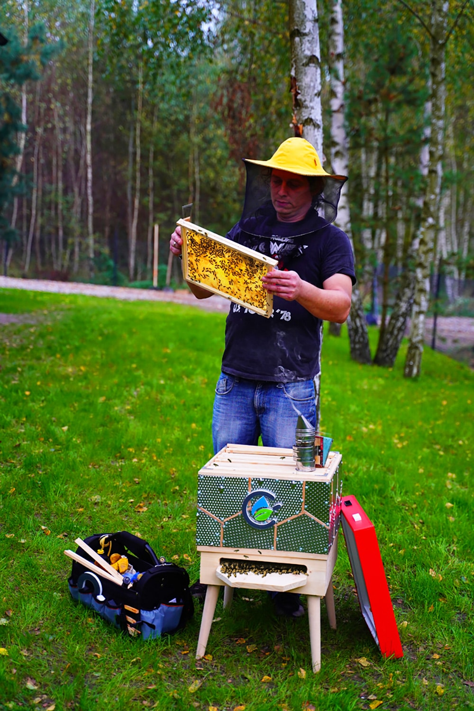 Pasieka zpszczołami iwspomnieniami