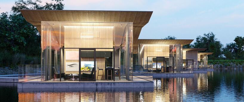 projekt pływających pokoi hotelowych wŁodzi