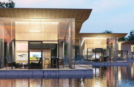 projekt pływających pokoi hotelowych w Łodzi