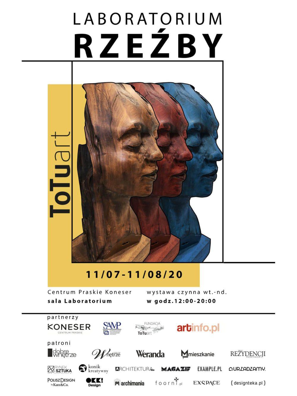 plakat Laboratorium Rzeźby Koneser