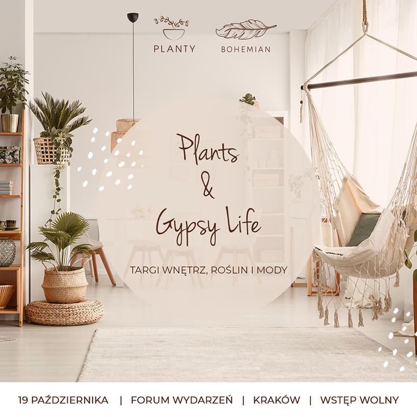 plakat Plants & gypsy life