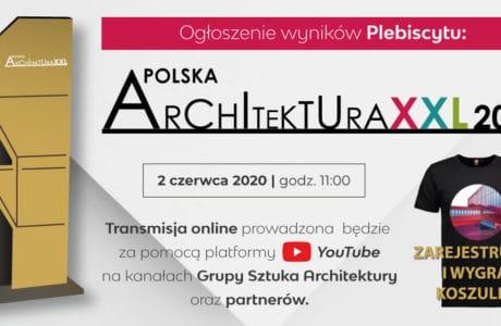 plakat plebiscyt architektura xxl 2019