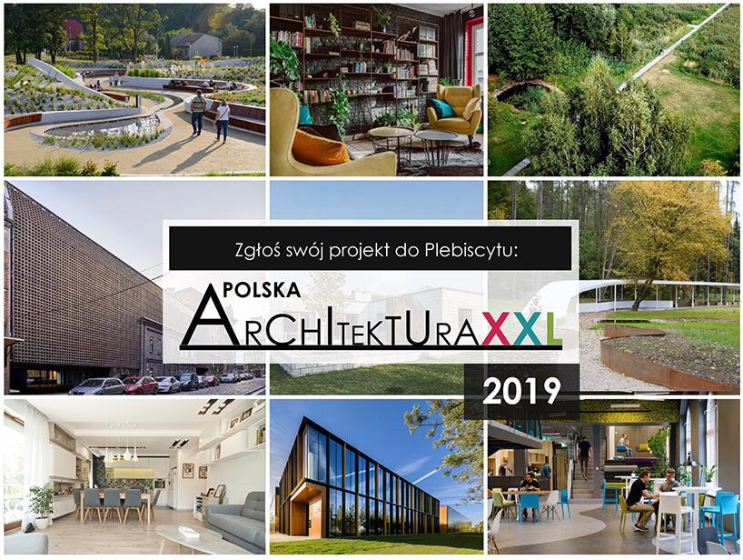 plakat Polska Architektura XXL 2019