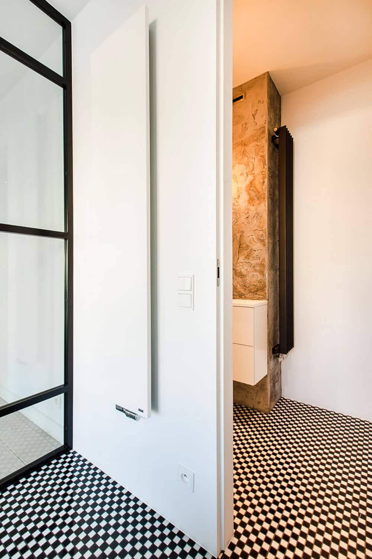 Pobujać się wbieli: nowoczesny 100-metrowy apartament