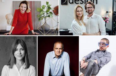 zestawienie pięciu osób podsumowujących rok 2019 dla MAGAZIF
