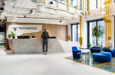 Podwodne projekty w wieży Podium Park: nowe biuro TechnipFMC