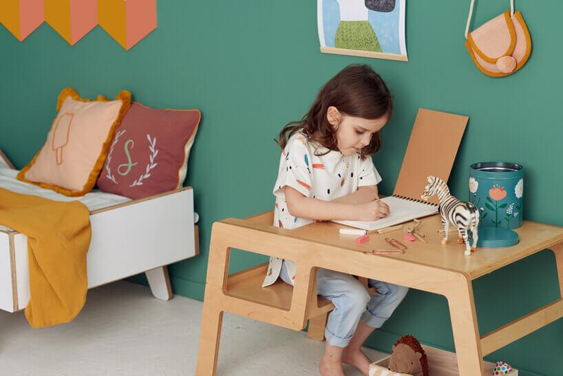 stolik do rysowania dla dziecka