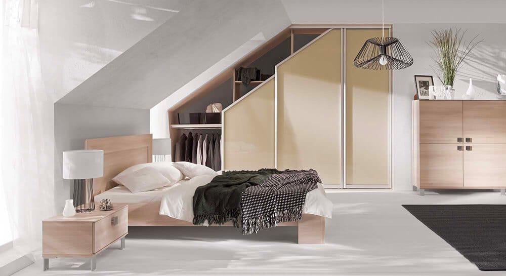 Pokój na poddaszu: funkcjonalne pomieszczenie