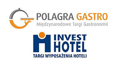 logotypy Polagra Gastro 2019 i Invest Hotel 2019