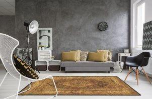 jasno brązowy dywan wełniany