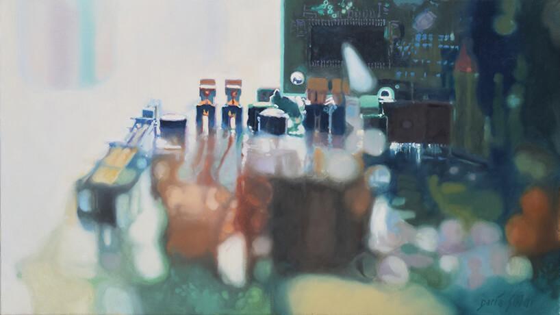 obraz olejny Tower Bridge autorstwa Darii Solar