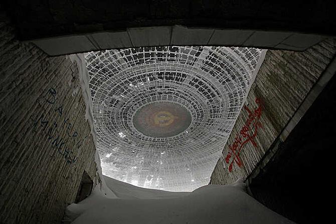 wejście zwidokiem na zwięczenie kopuły