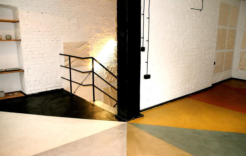 kolorowa polimerowa posadzka betonowa