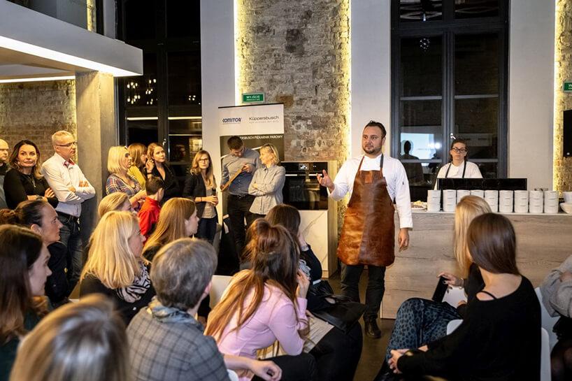 goście podczas jednej prezentacji na Poznańskim designie 2019