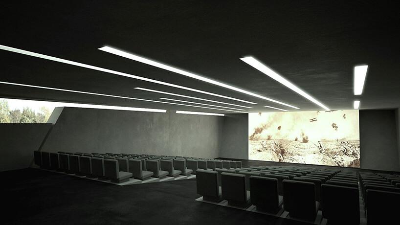sala kinowa zdużą ilością siedzeń