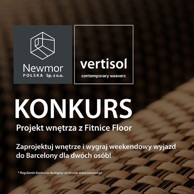 plakat konkursu Projekt wnętrza zFitnice Floor Newmor Polska