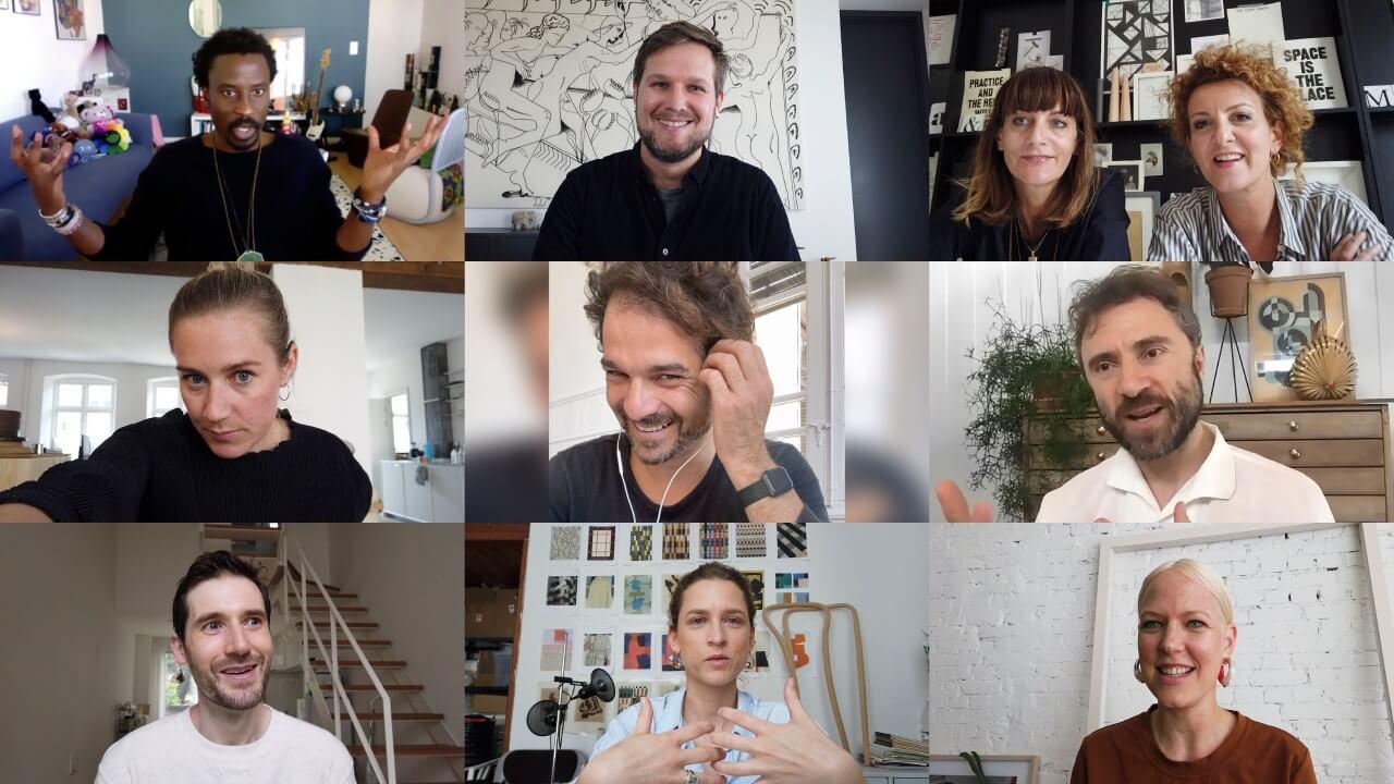 zdjęcia projektantów zaproszonych do projektu connected