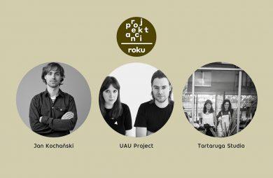 laureaci konkursu Projektanci Roku 2020 na Arena Design