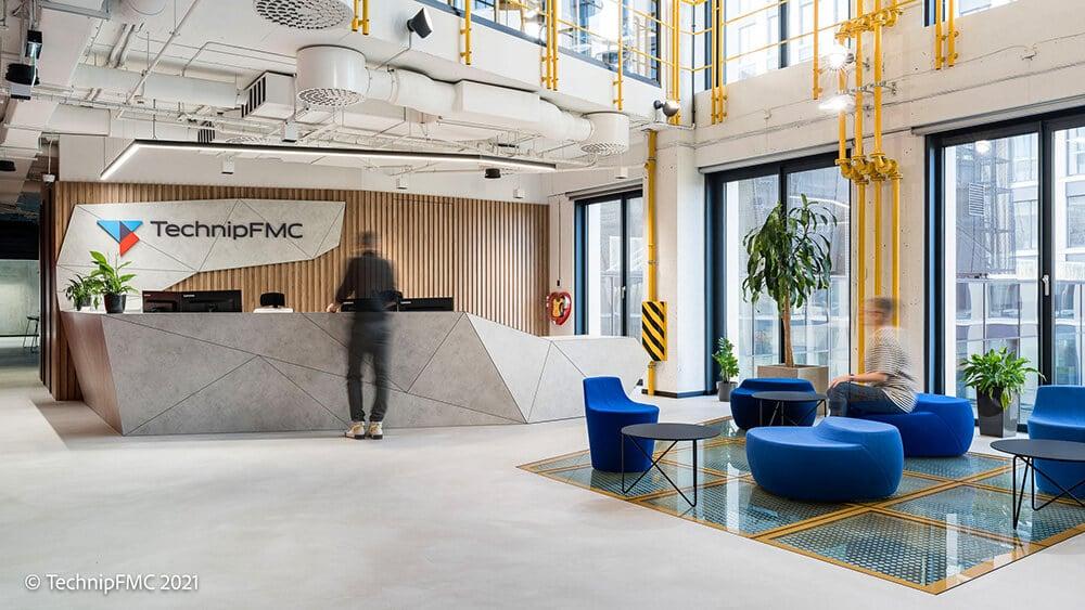 Podwodne projekty wwieży Podium Park: nowe biuro TechnipFMC