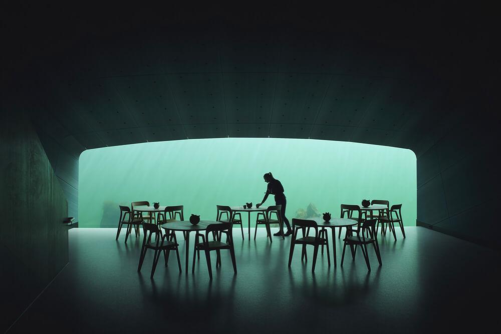 Przekroczyć granice smaku - największa podwodna restauracja na świecie
