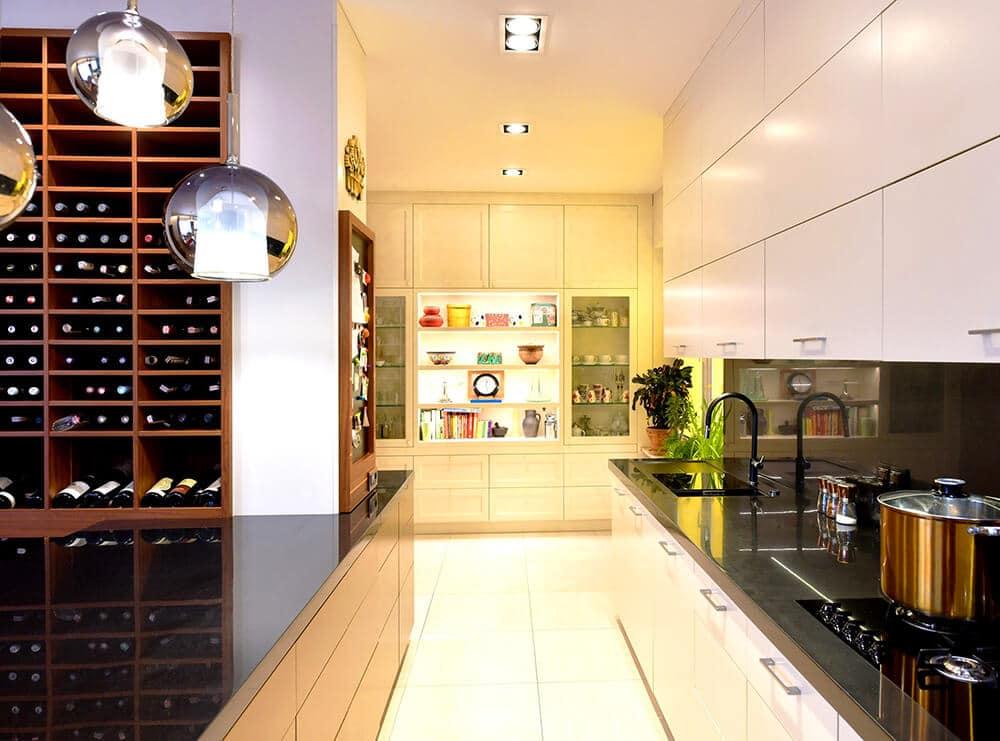Przestrzeń dedykowana: apartament przy Parku Szczęśliwickim
