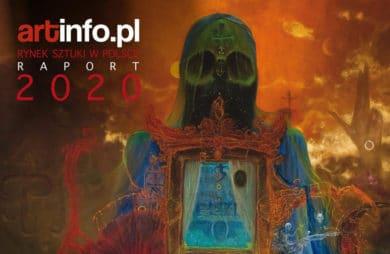 okładka raportu artinfo.pl Rynek sztuki w Polsce 2020