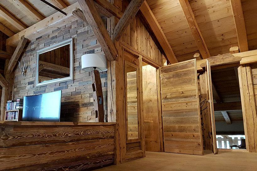 Drewniane Deski I Dom Stare Drewno Od Nowa Magazif