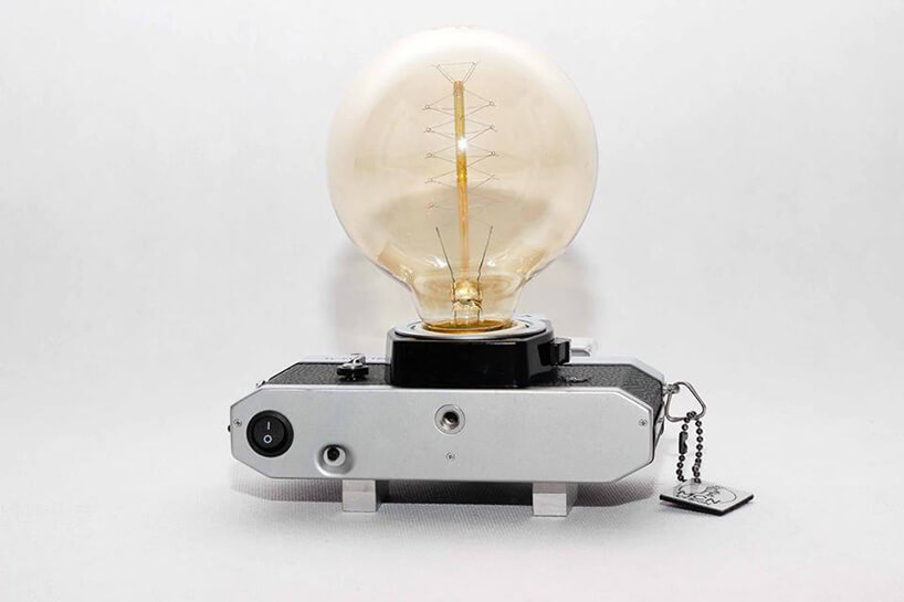 żarówka wkorpusie aparatu