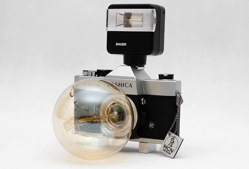 żarówka wkorpusie starego aparatu