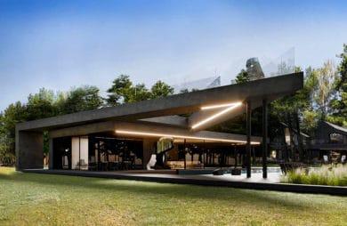 Redwood house drugie życie domu w rudym lesie