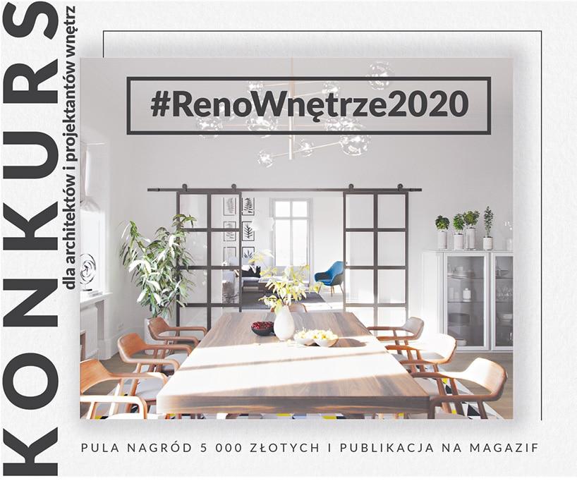 #RenoWnętrze 2020: rusza konkurs dla projektantów wnętrz