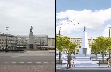 Rewitalizacja Placu Wolności w Łodzi: więcej zieleni, mniej samochodów