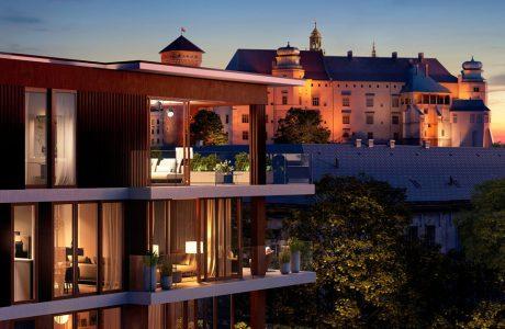 projekt rewitalizacji starej kamienicy w hotel Angel Stradom Kraków