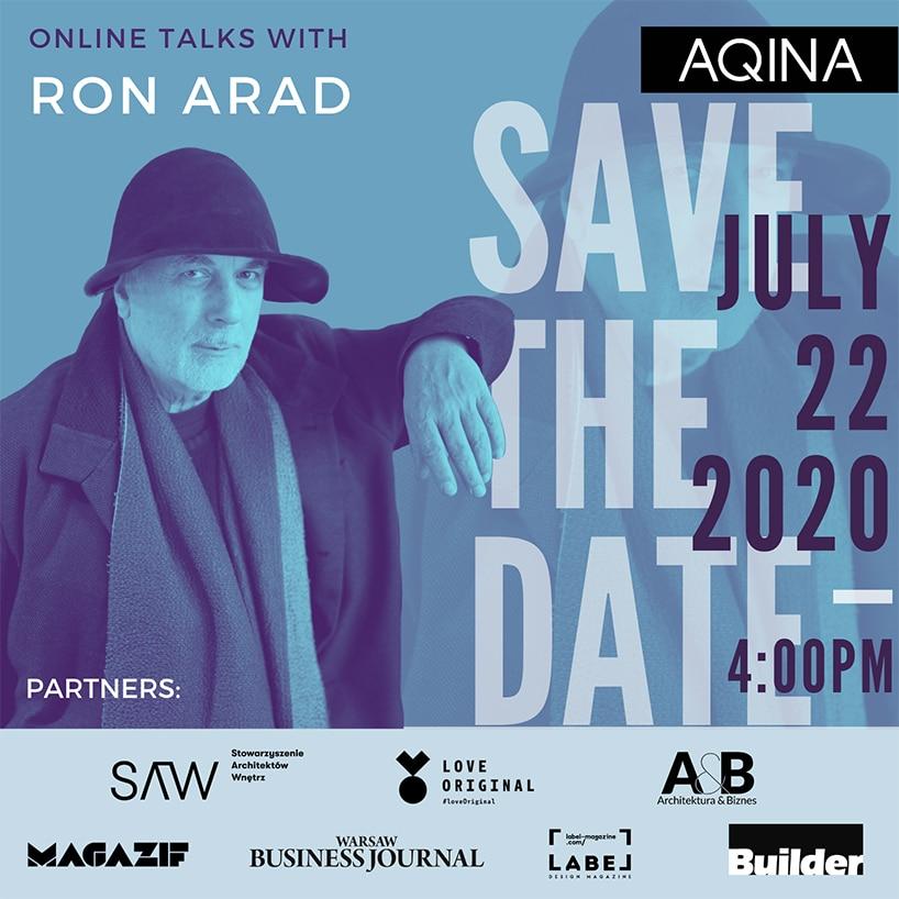 plakat ron arad wpolsce save the date