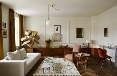 Rozkochać się w retro: przestronny apartament w przedwojennej kamienicy