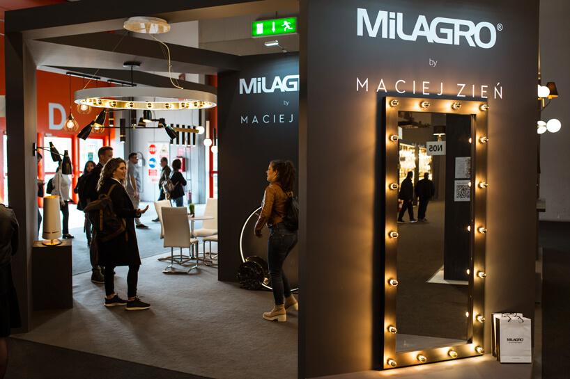stoisko zoświetleniem MiLARGO by Maciej Zień