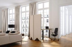 Ścianki akustyczne i boksy do biura i domu: VANK_WALL_3
