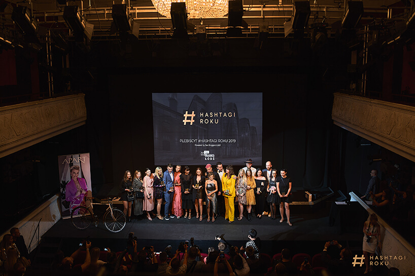 scena znagrodzonymi wkonkursie #hastagi roku See Bloggers 2019