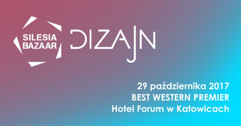 zaproszenie Silesia Bazar Dizajn vol. 4