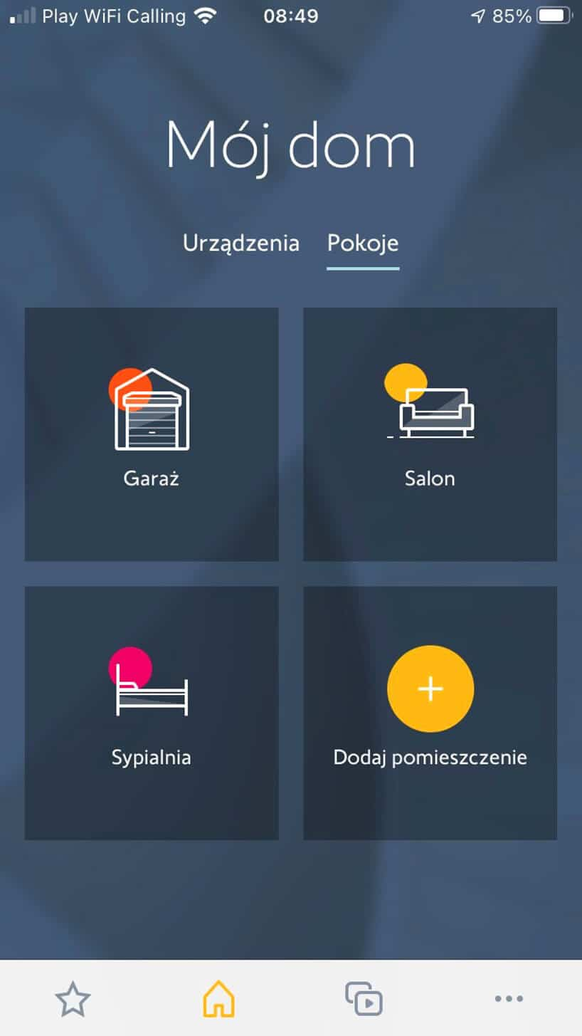 Smart home - nowoczesne zarządzanie inowa centrala od Somfy