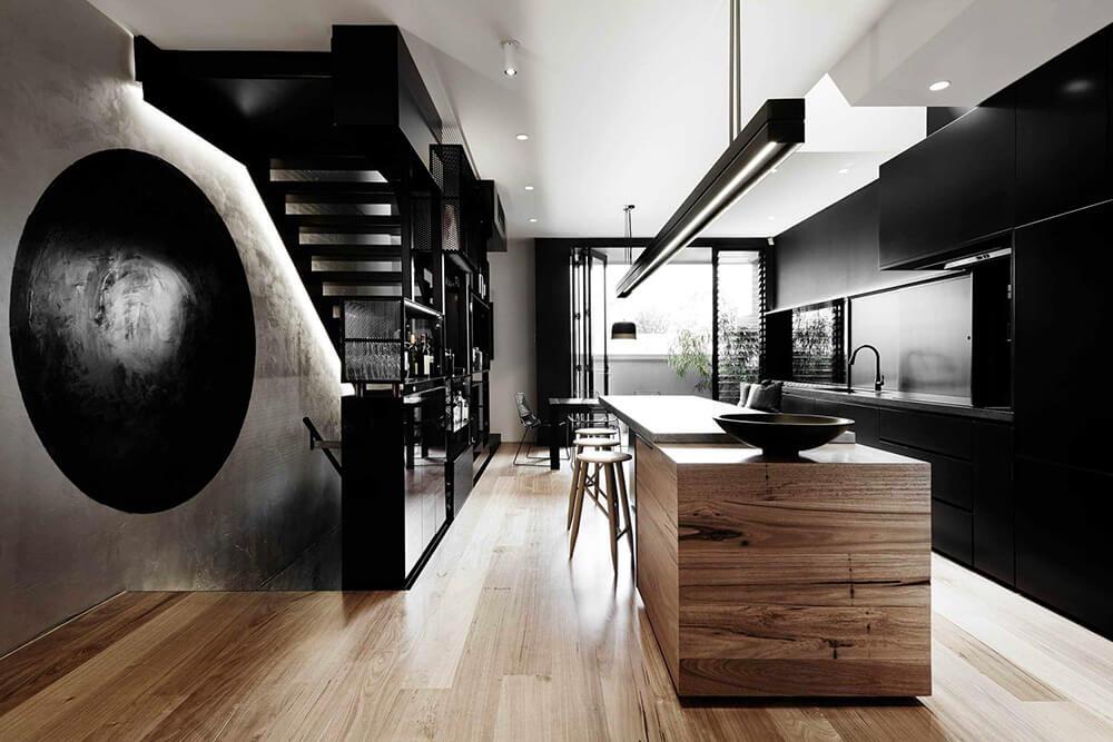 Przepis na wąskie mieszkanie: apartament wMelbourne